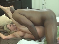 Mandy and DFW Knight - Spunked In Florida Interracial Creampie
