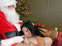 Santa Claus Is Cumming In My Mouth - Pictures