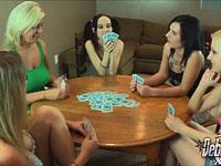 5 Girl Poker - Lesbian Style