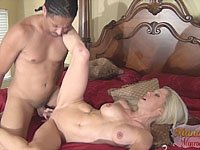 Mandy And Snoop - Interracial Fucking and Creampie