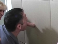Bi-Male Glory Hole Cocksucking
