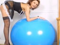 009 blue ball
